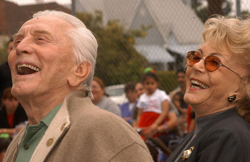 kirk and anne douglas